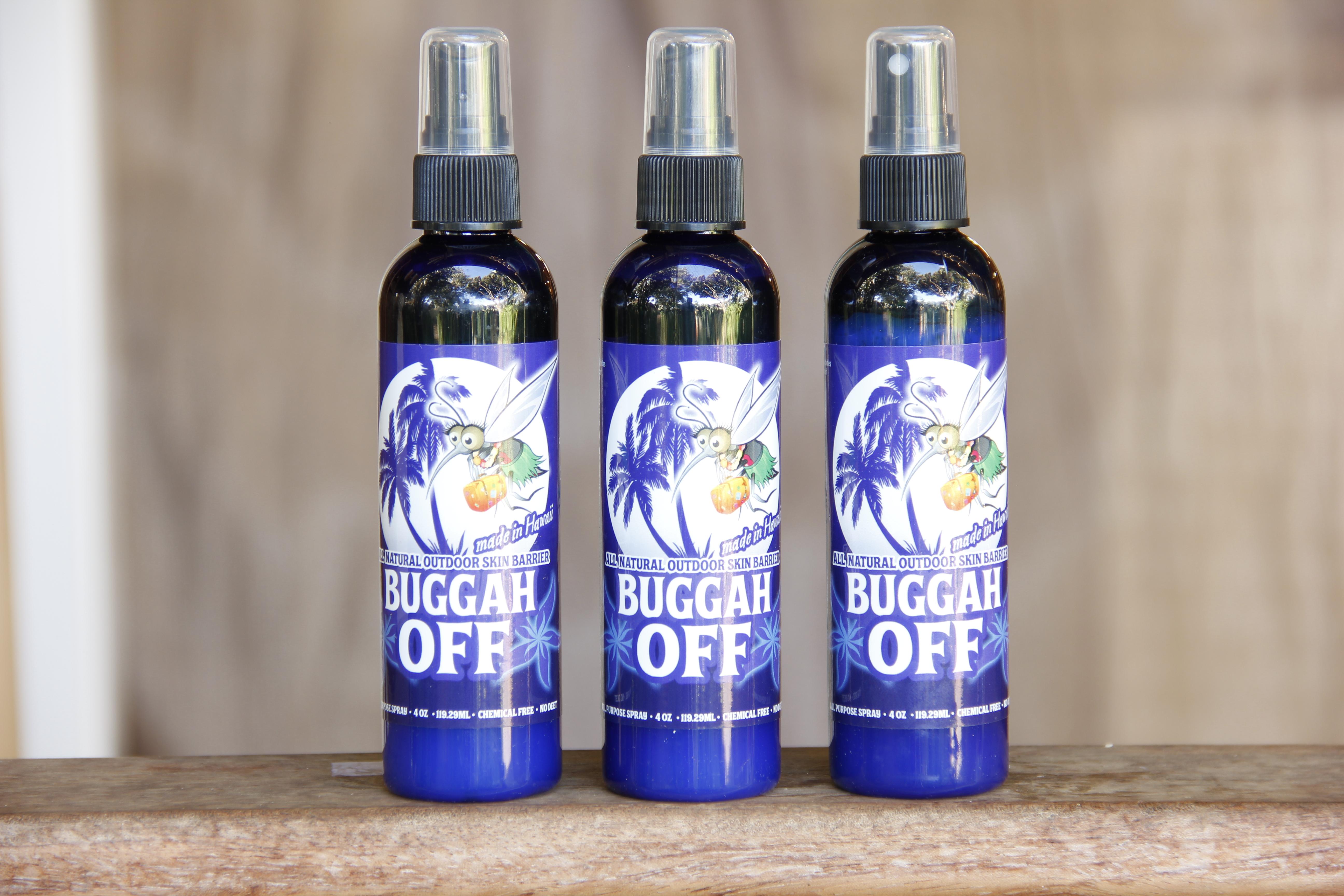 Buggah Off Natural Bug Spray Moku Pua
